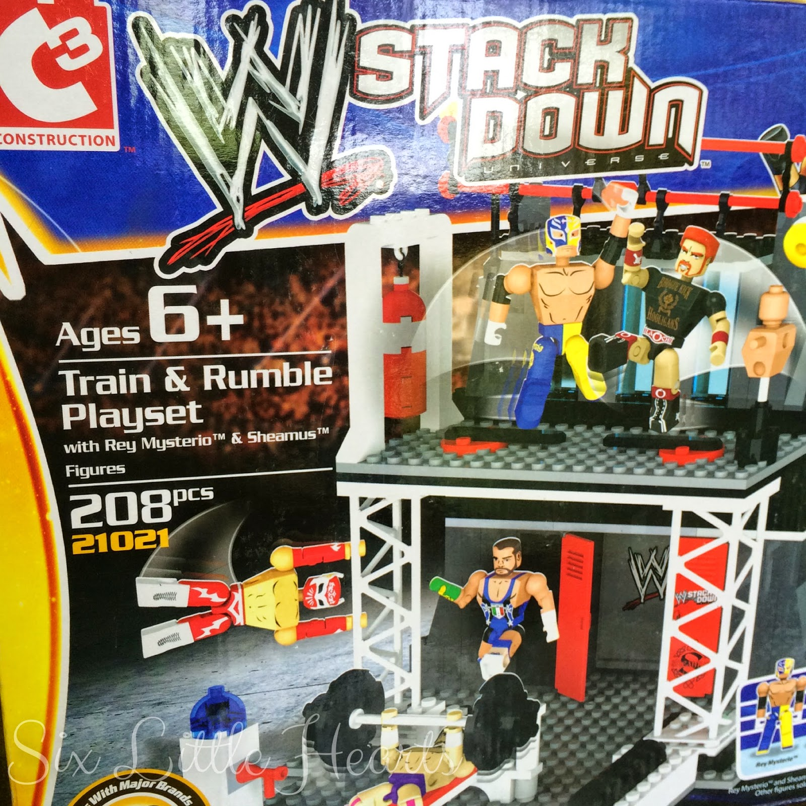 Wwe Toys For Boys : Six little hearts slhfeaturedthursdays wwe stack down