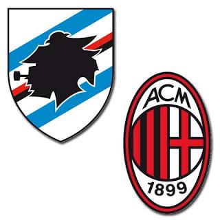 Prediksi Skor Akhir Sampdoria vs AC Milan (14 Januari 2013)