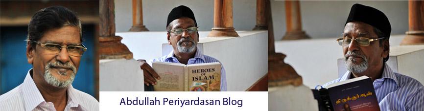 Abdullah Periyardasan Blog