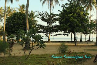 pantai di dewandaru karimunjawa