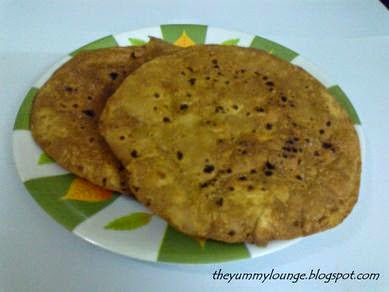 Brown Papad Using Leftover Chapati - Roti Recipe