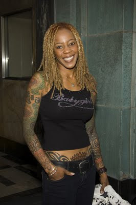 Debra Wilson Tattoo Design Picture Gallery - Female Celebrity Tattoo Ideas for Girls