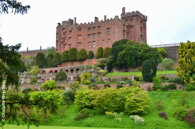 Powis Castle - spectacular terraces and home to Britain\'s Hanging ...