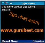 2go chat scam