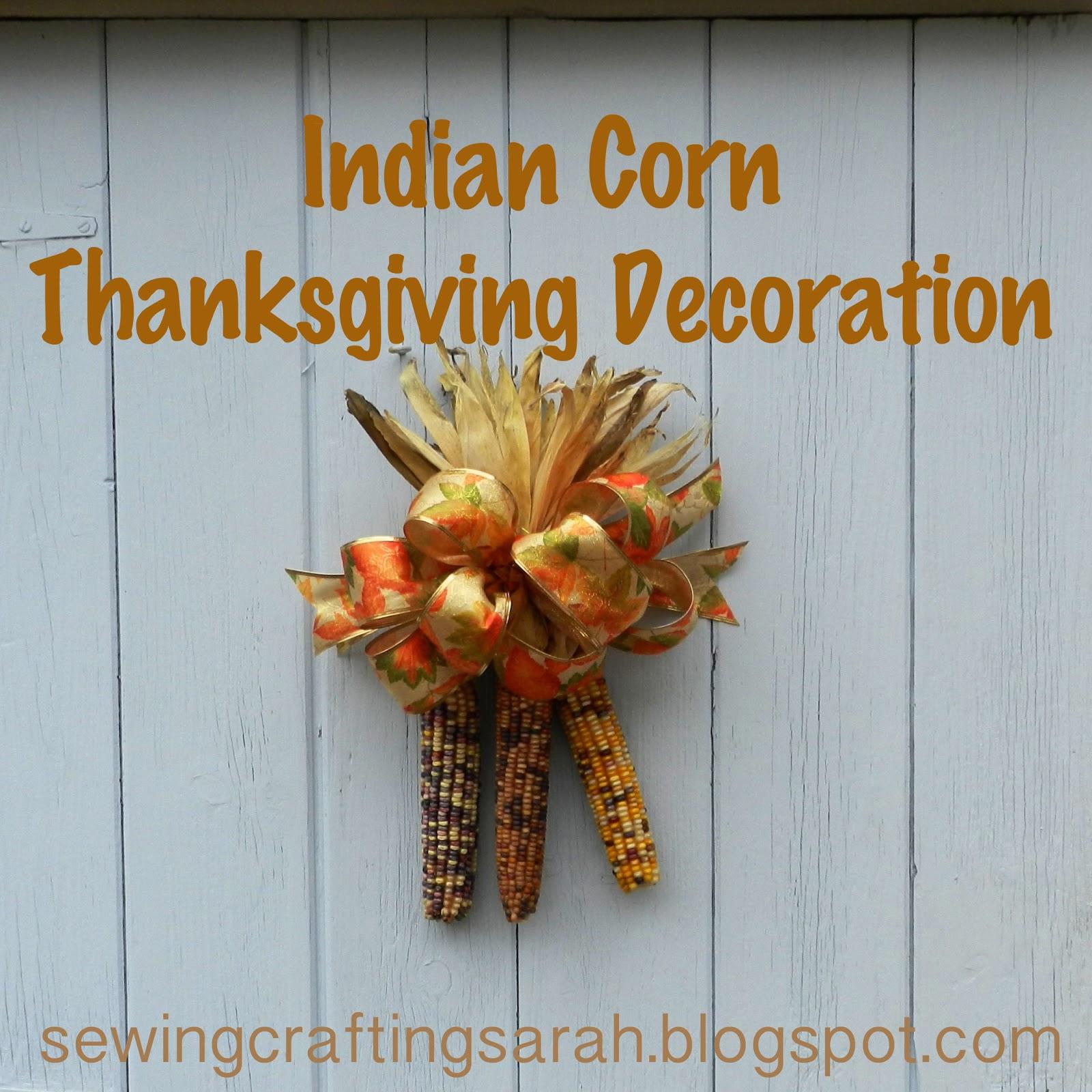 Indian Corn Craft I Hung My
