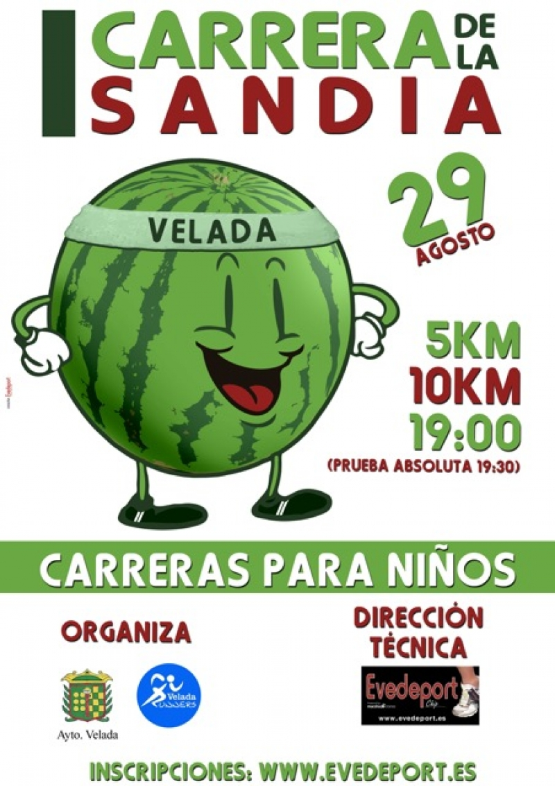 I Carrera de la Sandía de Velada