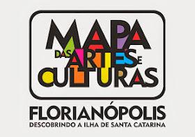 Mapa das Arte e Culturas de Florianópolis