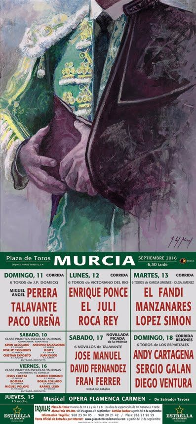 FERIA TAURINA MURCIA