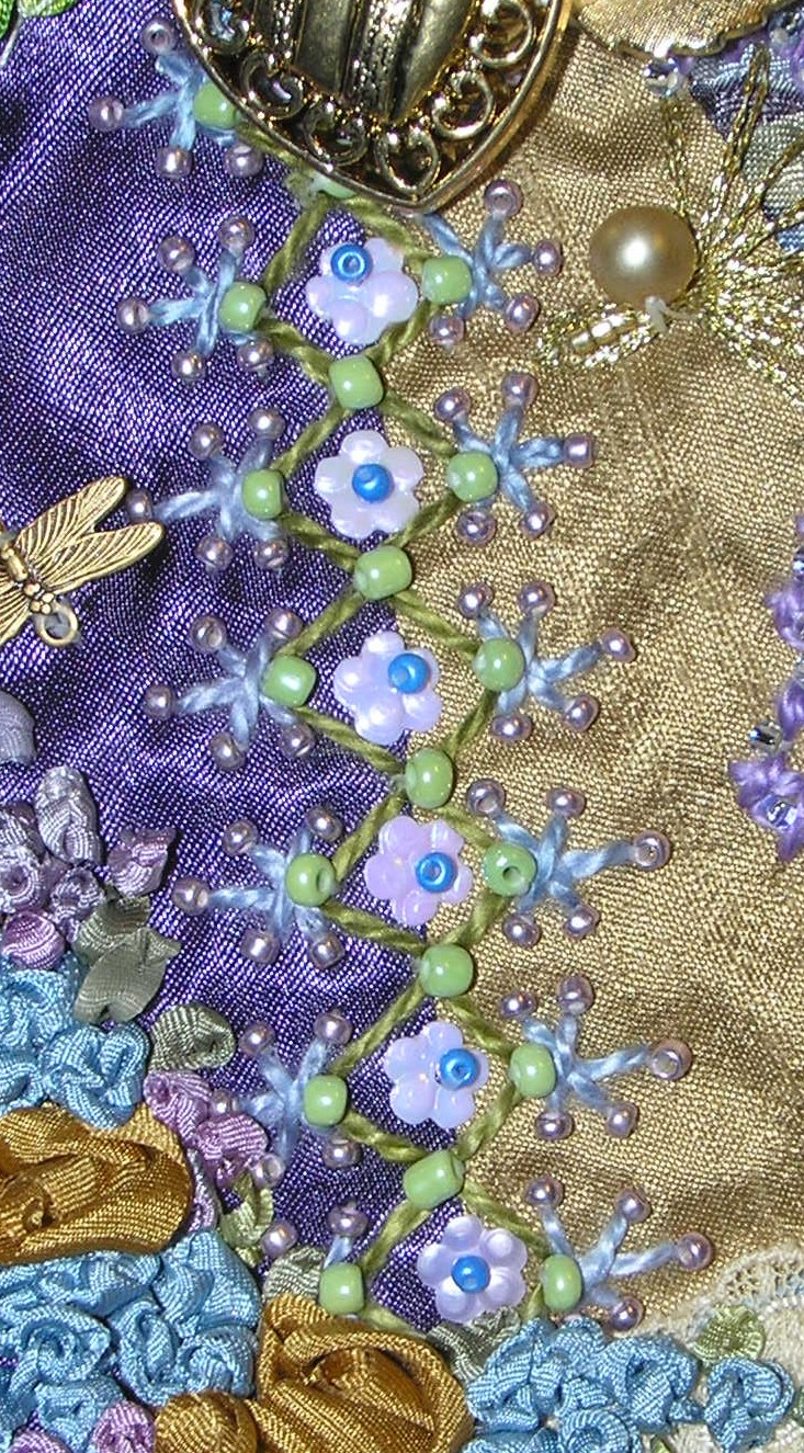 Crazy quilting on pinterest embroidery stitches and
