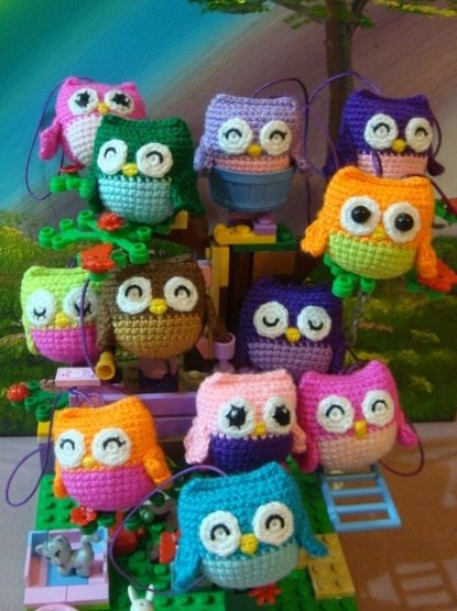 Free Crochet Pattern Small Owl : 2000 Free Amigurumi Patterns: Little owls crochet pattern