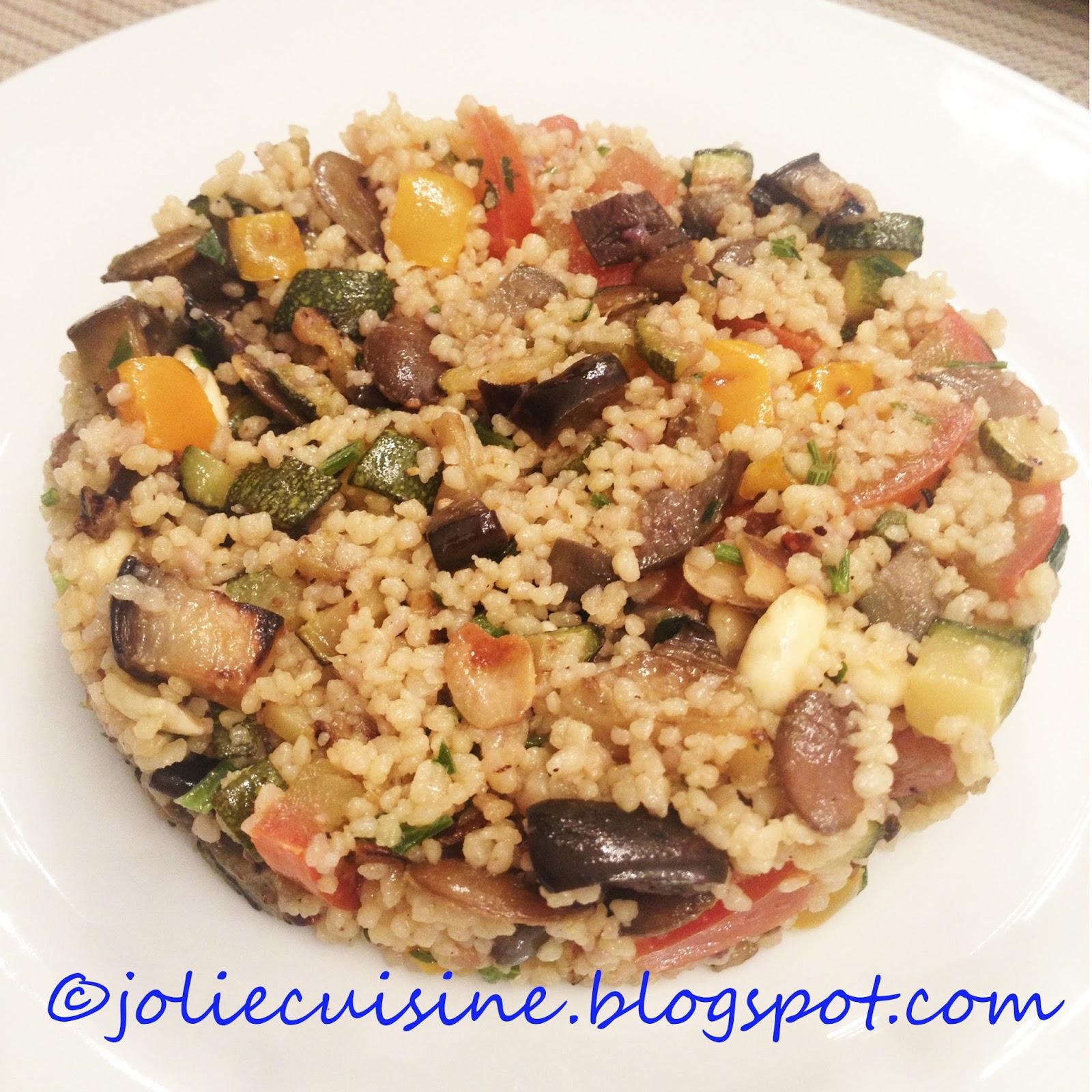 Jolie cuisine cous cous alle verdure - Jolie cuisine ...