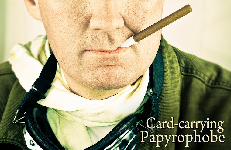 Card-Carrying Papyrophobe