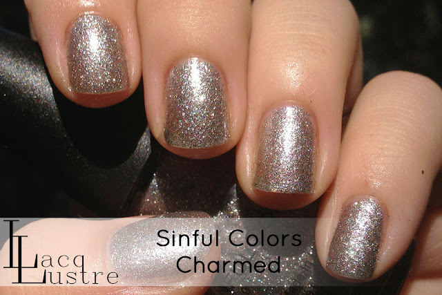 Sinful Colors Charmed swatch