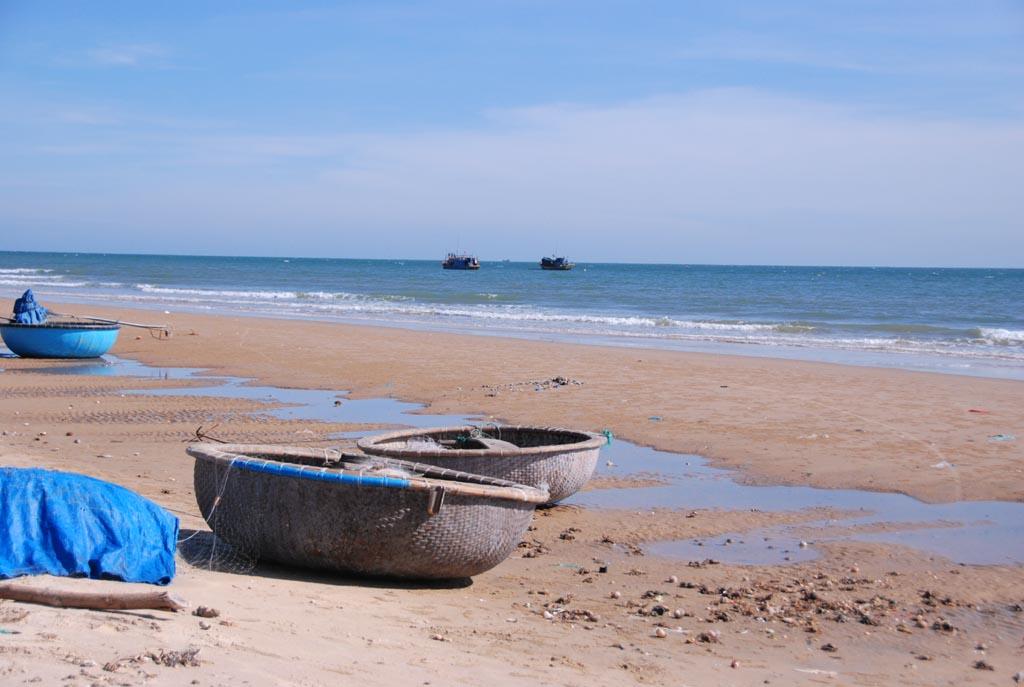 Bãi biển Hàm Thuận Nam ở Bình Thuận