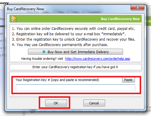 cardrecovery v6 10 build 1210 serial key free