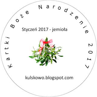 kartki BN- 01-2017-jemioła