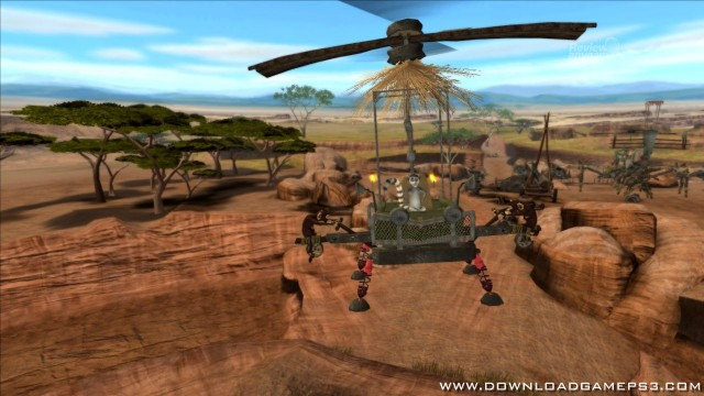 Madagascar Escape 2 Africa Download game PS3 RPCS3 PC free