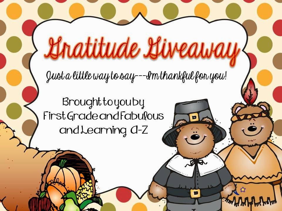 http://firstgradeandfabulous.blogspot.com/2014/11/gratitude-giveaway-thankful-for-you.html