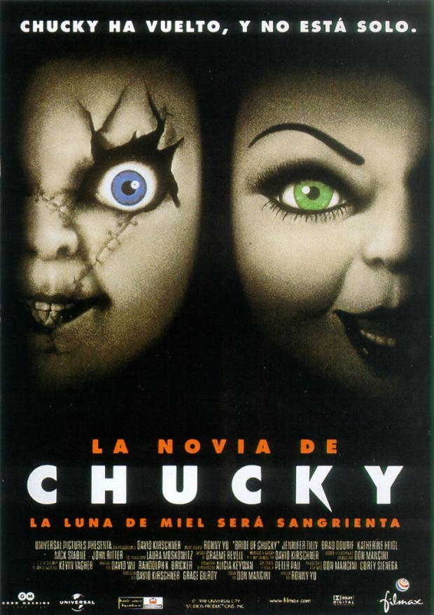 La Novia de Chucky - Bride of Chucky- (1998) Trailer y Pelicula Online