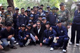 Shahid Kapoor and Jackie Shroff meets Jawans