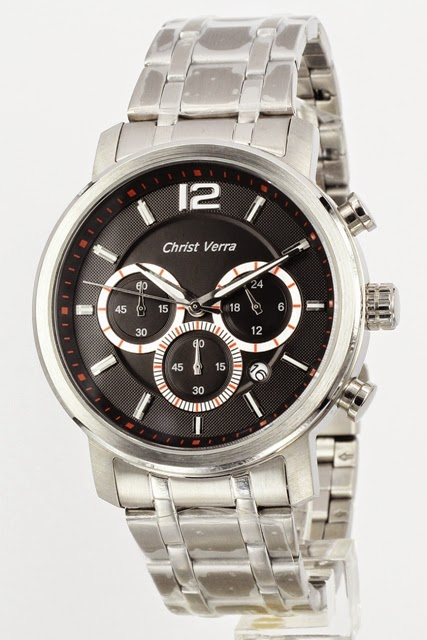 christ verra cv 3450G-11 blk ss male 46mm