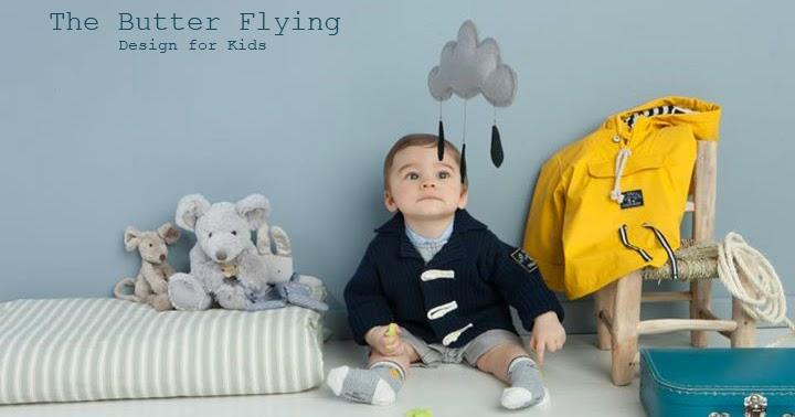 ... design for Kids: Chambre bébé bleu et gris / Grey and blue nursery