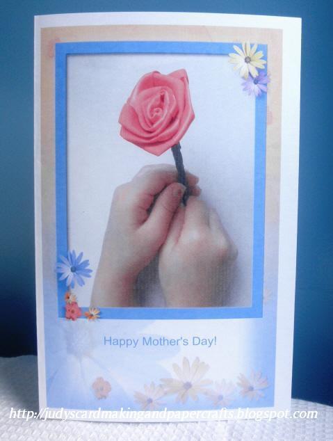 handmade happy mothers day cards. Happy Mother#39;s Day card !