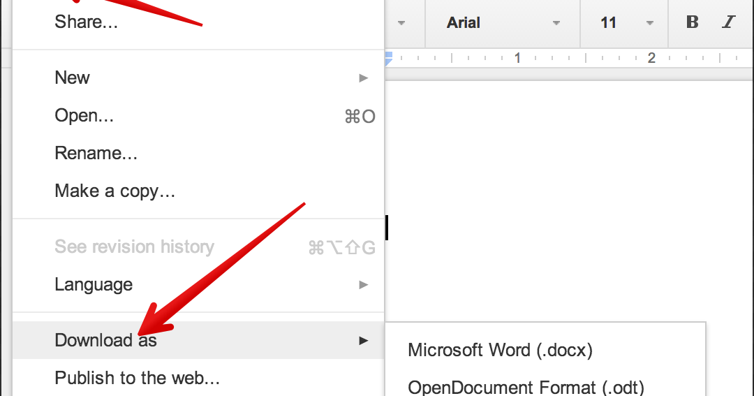how to create a pdf with google