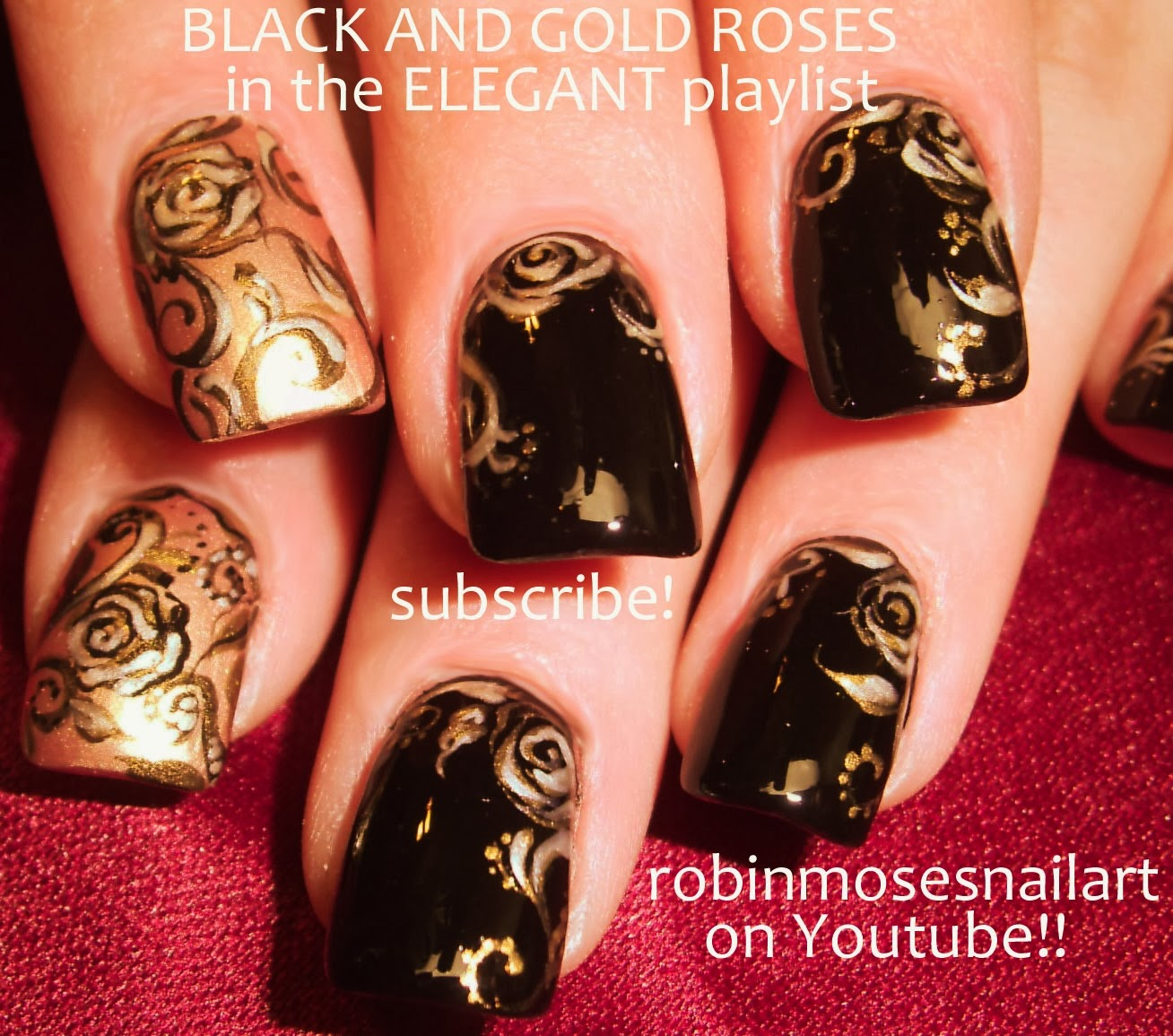 Robin moses nail art rose nail art nail art nails red other rose nail art can be found in the playlist flowers here rose nail art search robin moses roses or roses in the flowers playlist and find tons prinsesfo Choice Image