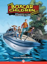 Review Surprise Island The Boxcar Children Graphic Novels By Gertrude Chandler Warner