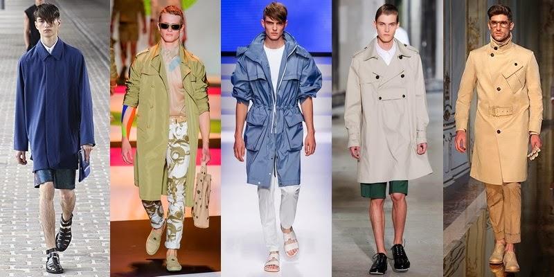 Men Spring Outerwear Fashion Trend 2014