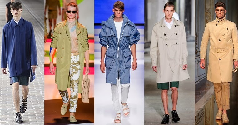 spring 2014 men outerwear fashion trend spring summer