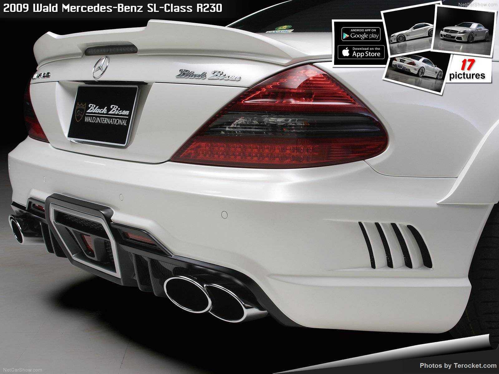 Hình ảnh xe độ Wald Mercedes-Benz SL-Class R230 2009 & nội ngoại thất