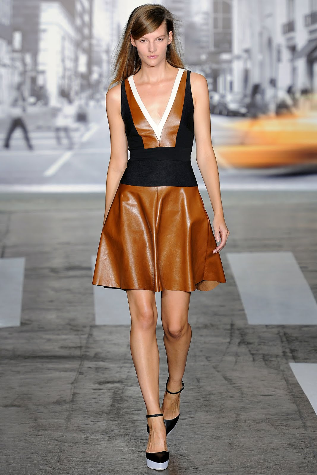 New york fashion week dkny spring summer 2013