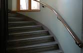 Mitt hotellrum är en trappuppgång.
