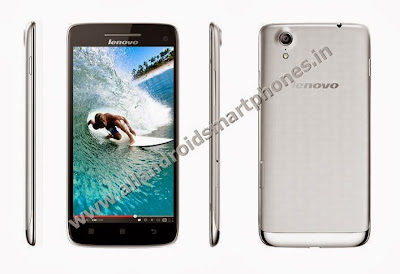Lenovo Vibe X S960 Full HD Android Phablet Black Front Silver Back Side Images Photos Review