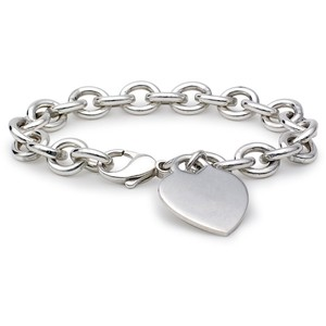 Sterling Silver Bracelet Sweetheart Locket9