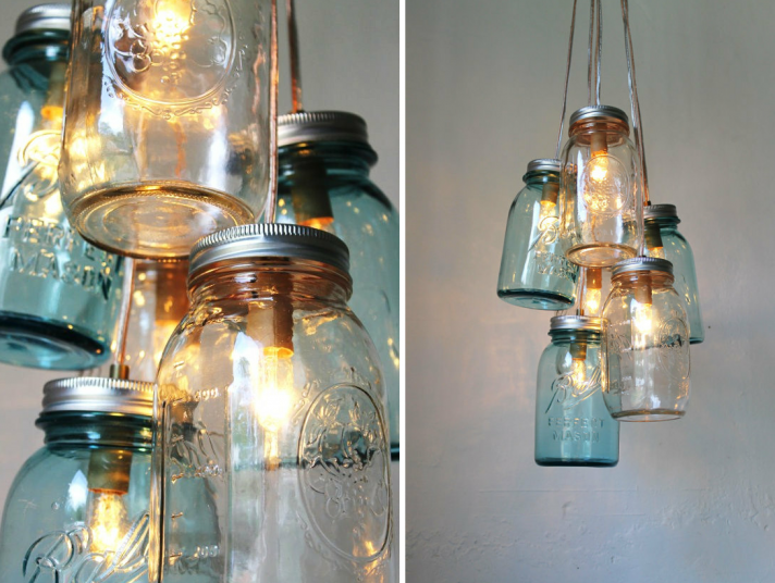 Diy mason jar chandeliers camp wandawega vintage ball mason jars would be the perfect item to use in this crafting project as they come in many different styles and colors which make this diy aloadofball Gallery