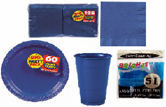 Hanukkah Blue Party Supplies
