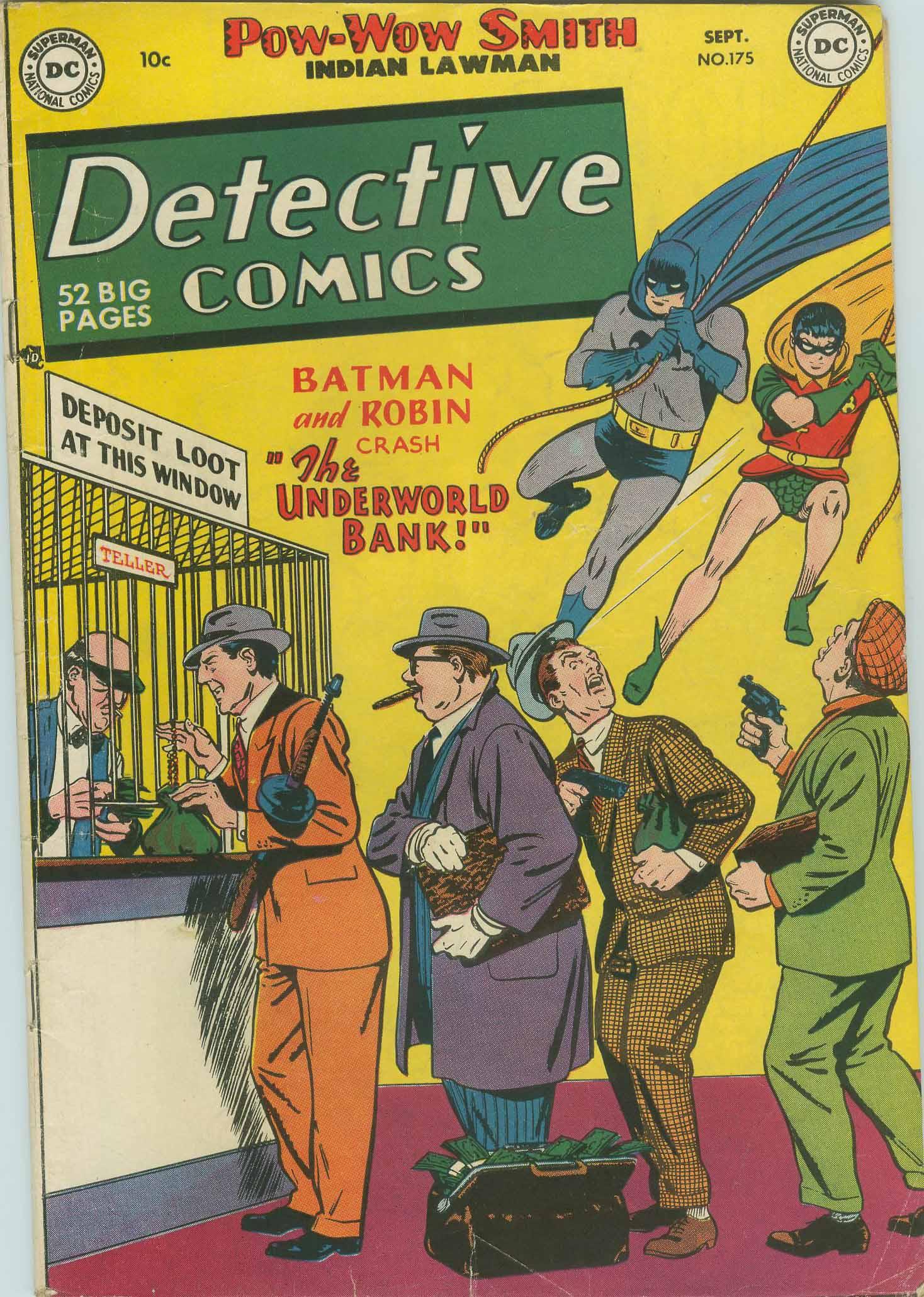 Detective Comics (1937) 175 Page 1