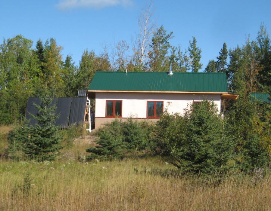 Build it solar blog sandbed heat storage for solar homes for How much to build a house in mn