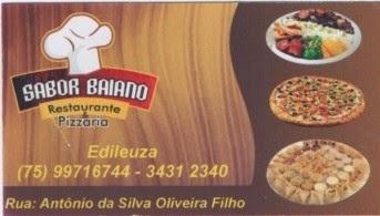 Restaurante Sabor Baiano em Inhambupe