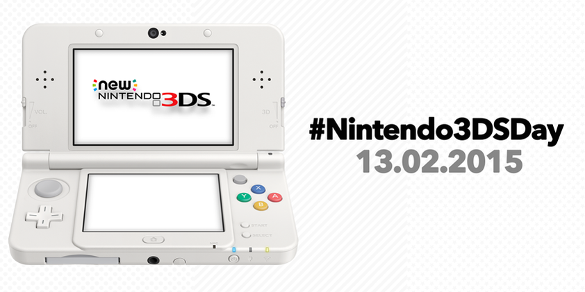 #Nintendo3DSDay - One Day of Three Amazing Releases for 3DS