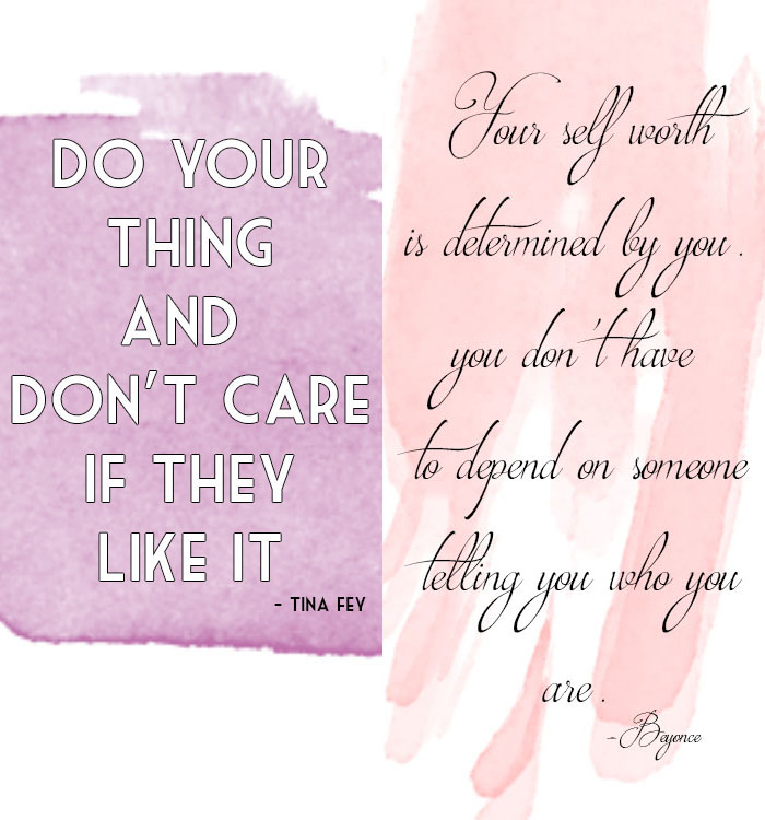 LOVE YOURSELF QUOTES FROM EMPOWERING WOMEN