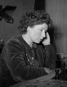 La ajedrecista Fenny Heemskerk