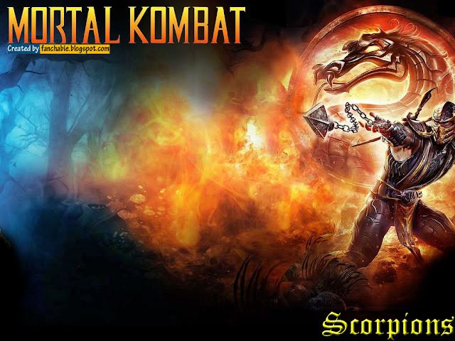 MK Scorpion with Kunai