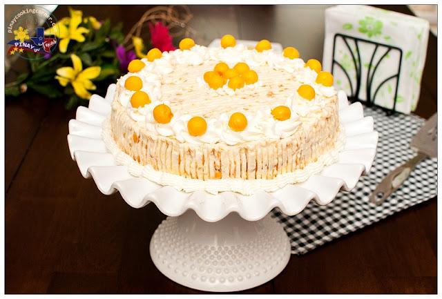 Mango Cream Cake Recipe Mango Cream Apply Cake
