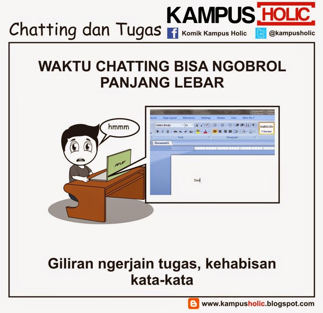 #633 Chatting dan Tugas