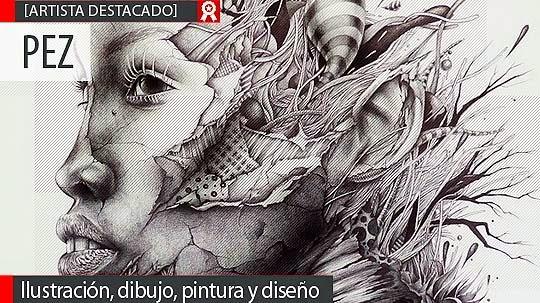 Ilustración, dibujo, pintura y diseño de PEZ