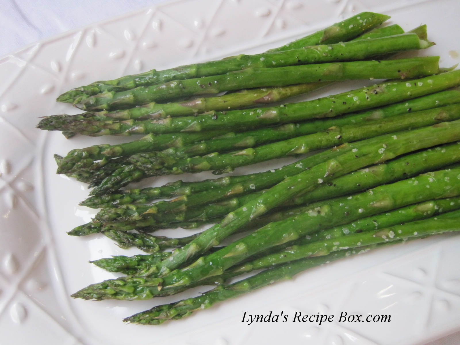 Lynda's Recipe Box: Oven Roasted Asparagus